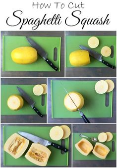Learn how to cut a spaghetti squash, plus a quick tip for making it easier before you start!