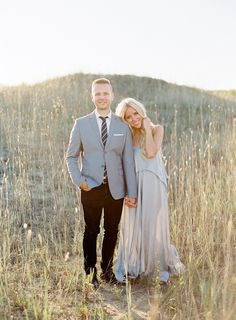 Elegant Sunset Engagement Session - Lani Elias Photography, beautiful @aillchuk