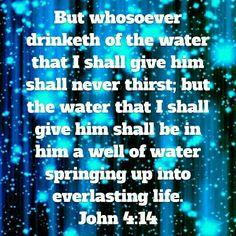 Thirst for God 1 John 4:14