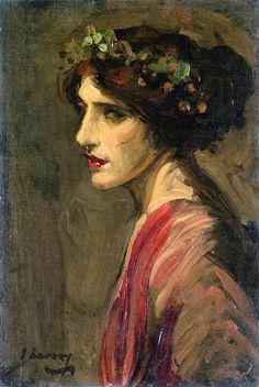 Portrait of a Lady - John Lavery 1914