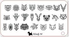 Wendy n94 Animales origami - Comprar en Wendy Stamping
