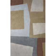 @Overstock - A rich geometric pattern of beige highlights this modern area rug. This beautiful area rug features sturdy backing for superior durability and long-lasting comfort.http://www.overstock.com/Home-Garden/Handmade-Alexa-Modern-Geometric-Beige-Rug-5-x-8/5782229/product.html?CID=214117 $160.99