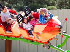 Busch Gardens Tampa - Tampa, Florida - Kid friendly activities.
