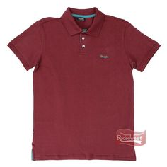 Polo Masculina New Basic Bordô - Wrangler 67P.C5.4K.40: Homens