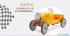 ¡Gana un coche a pedales Goldini de Baghera!
