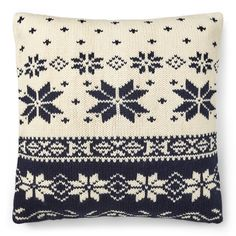Easy Knitting Patterns, Free Knitting, Crochet Patterns, Christmas Knitting, Christmas Cross, Knit Pillow, Knitted Throws, Cross Stitch Charts, Vintage Knitting