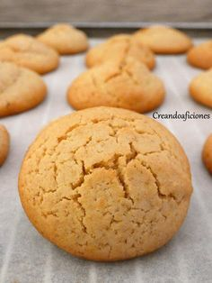Brownie Cookies, Yummy Cookies, Cake Cookies, Avena Recipe, Healthy Deserts, Recipe For 4, Sin Gluten, Sweet Recipes, Cookie Recipes