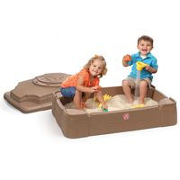 Play and Sandbox With Cover Toddler Kids Sand Summer Activity for sale online Toddler Water Table, Sand And Water Table, Water Tables, Sandbox Cover, Kids Sandbox, Step 2 Sandbox, Sand Play, Water Play, The Originals