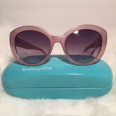 NEW KATE SPADE SHERRIE SUNGLASSES ⚜ Real photo  taken from me ⚜ Brand new✨, never used. 100% authentic from Kate Spade NY ⚜ Pack with careand ship✈️right away ⚜ Freegiftincluded with purchase $100+ ➖➖➖➖➖➖➖➖➖➖➖➖➖ •TRADEP.P.HOLD •LOWBALLBUNDLE IF U HAVE NO INTENTION TO BUY • 15% OFF FOR BUNDLES • REASONABLE OFFERS WILL BE ACCEPTED. kate spade Accessories Sunglasses