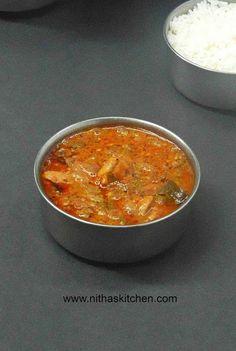 Spicy Tangy Chicken Okra Curry/KuzhambuRecipe