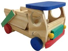 Wood Carving Art, Toy Trucks, Baby Play, Wood Toys, 4x4, Cool Art, Woodworking, Kids, Children