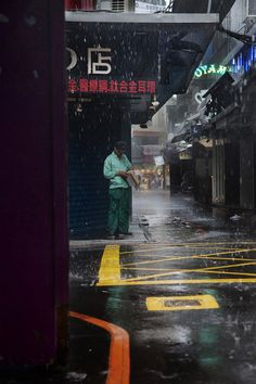 Taipei in the rain by Christophe Jacrot Saul Leiter, Urban Photography, Street Photography, Christophe Jacrot, Monuments, Smell Of Rain, I Love Rain, Rain Days, Singing In The Rain