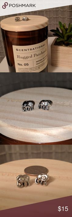 🐘   NWOT mini elephant earrings! Nickel free These brand new, new without tags, earrings are nickel free. I love tiny earrings with your hair pulled up. These are adorable!! Jewelry Earrings