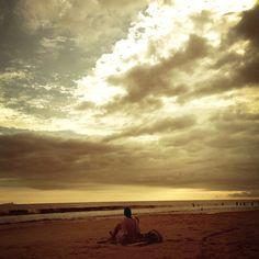 Por do sol! #praiademareias #patriciachen