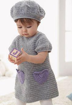 Sweet lil' ... I Heart My Dress: free pattern.