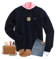 """""""Preppy!"""" by hopemarlee ❤ liked on Polyvore featuring J.Crew, Ray-Ban, Abercrombie & Fitch, Jack Rogers, Tory Burch, women's clothing, women, female, woman and misses"""