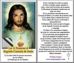 Imágenes de Cecill: Oraciones al Sagrado Corazón de Jesús!