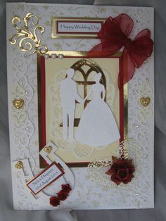 Handmade Wedding card l have made