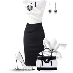 """Black & White"" by oribeauty-cosmeticos on Polyvore"