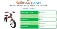 Ürün Yorum En iyi ürünleri bulmanıza yardımcı olur. Bu güzel denge bisikletini kullandınızsa urunyorum.com.tr ye yazarak almak isteyenlerle tecrübeni paylaş