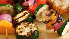 Brochette de légumes à la Plancha : frais et croquant pour l'été!
