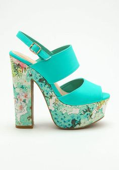 MINT PLATFORM HEELS from Love Culture. Shop more products from Love Culture  on Wanelo. 2f9bd73f0