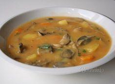 Slovak Recipes, Czech Recipes, Ethnic Recipes, Soup Recipes, Snack Recipes, Food 52, Soups And Stews, Cheeseburger Chowder, Recipes