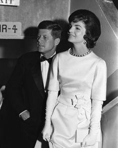 President-elect John Kennedy with Jackie in January 1961. (Paul Schutzer—The LIFE Picture Collection/Getty Images) #LIFElegends