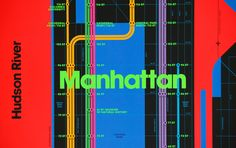 Wrong Color Subway Map — TRIBORO