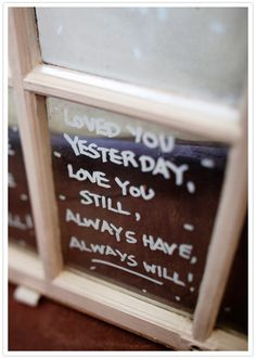 painted window quote