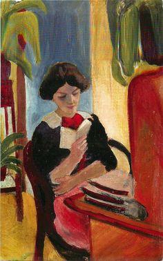 August Macke | Expressionist painter | Part. 1 | Tutt'Art@ | Pittura * Scultura * Poesia * Musica |