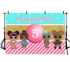 LOL-SURPRISE-DOLL-BIRTHDAY-PARTY-PHOTOGRAPHY-BACKDROP-CUSTOM-PHOTO -BANNER-PROPS 28159b9b8bec