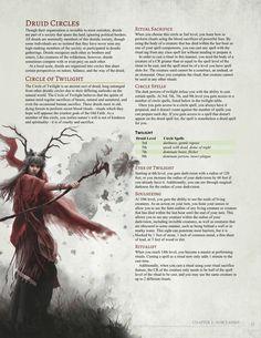 Circle of Twilight Druid by Jonoman3000