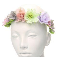 Summer Flower Hair Garland