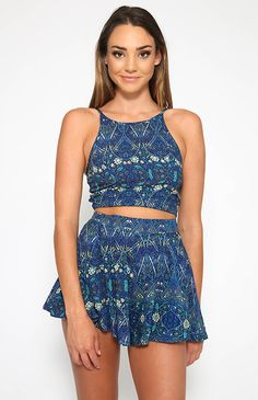 By The Sea Shorts - Print