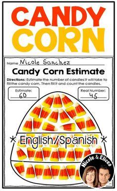 Fun fall learning craftivities - apples, spiders, pumpkins, bats, turkeys & more! (English & Spanish)