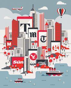#illustration #infographic #typography #illustrator #design #editorial