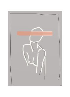 Lisa Wirenfelt, Naive art print - THE POSTER CLUB