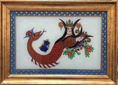 Painting Lessons, Strand, Printmaking, Mythology, Rooster, Tiles, Illustration, Modern, Animals
