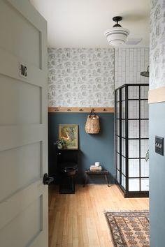 » BAYVIEW BARNHOUSE | Wooded Bathroom Renovation Reveal