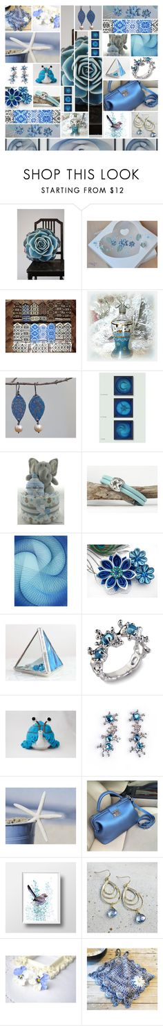 """Etsy Blues"" by andreadawn1 ❤ liked on Polyvore"