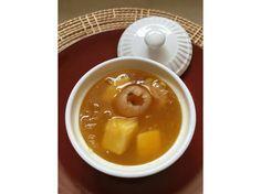 Chilled Longan and Sweet Potato Dessert Recipe - HungryGoWhere Malaysia