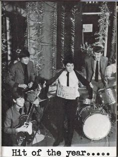 The Animals performing on Ready Steady Go! in 1964.