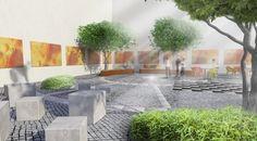 Courtyard Restaurant, Patio, Outdoor Decor, Home Decor, Decoration Home, Room Decor, Home Interior Design, Home Decoration, Terrace