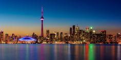 Toronto Sunset Skyline by Nik Coli on 500px