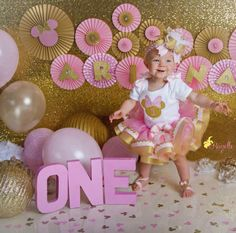 This White, Pink, and Gold Over the Top Bow is an original design by Beautiful Bows Boutique for infants, toddlers, and older girls! Baby will look surely impress wearing this pink and metallic gold baby girl headband for her cake smash. Order now to guarantee availability. Choose to add our Pink and Gold Rhinestone Shirt and Pink Tulle Skirt for an unforgettable 1st birthday outfit. Select from several accessory options including: alligator clip, French barrette, or elastic stretch headband…