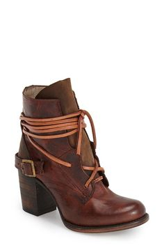 Freebird by Steven 'Billy' Ankle Boot (Women) available at #Nordstrom leather cognac 5sh 3.5h sz7 274.95