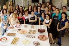 Workshop de Doces de Chocolate em 12 de Julho de 2014 no Porto.