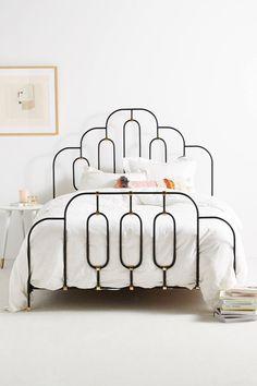 deco bed frame.