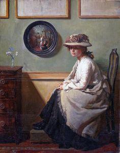 Sir William Orpen: The Mirror (1900)